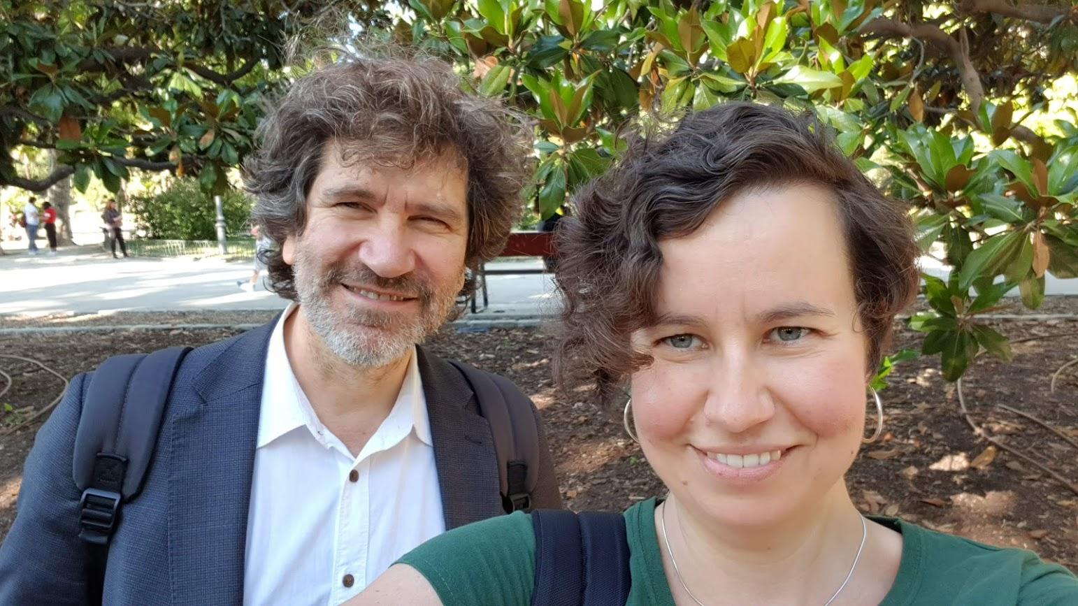 Magda Plocikiewicz y Jorge Ponce